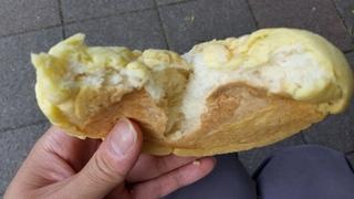北大コップパンのメロンパン中身.jpg